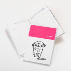 ダイアリー手帳(A6サイズ 日付書込み式)